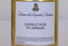 """Baron de Roquette Buisson. Cassoulet """"riche"""" du Lauragais"""