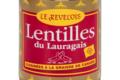 Le Revélois. Lentilles du Lauragais cuisinées à la graisse de canard
