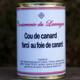 Conserverie du Lauragais. Cou farci au foie gras