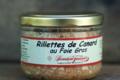 Conserverie du Lauragais. Rillettes de canard au foie gras