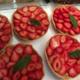 L'Engrain. Tarte aux fraises