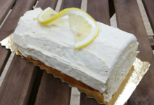 L'Engrain. bûche au citron
