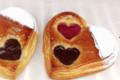 Aux saveurs gourmandes. Coeur choco framboise
