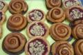Pâtisserie Ninon. viennoiserie pomme framboise crumble