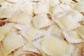 Pasta Nonna. Ravioli jambon blanc truffe noire