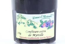 Daniel Boudet. Confiture extra de myrtille