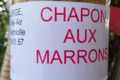 Ferme Bel-Air. Chapon au marrons
