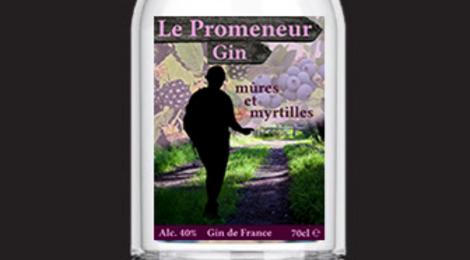 La Distillerie du Sud. Gin Le Promeneur