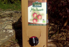 Les Jardins de la Haute-Vallée. Le jus de pomme bag in box