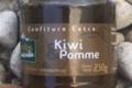 Les Jardins de la Haute-Vallée. Confiture kiwi pomme