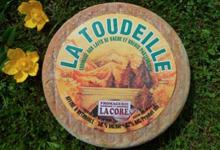 Fromagerie de La Core. La Toudeille vache-brebis