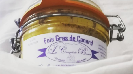 Les canards de Bramal. Foie gras entier de canard