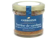 Maison Ambroiserie. Terrine de sardine