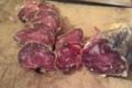 Le Noir du Picou. Saucisson de Porc Gascon Bio