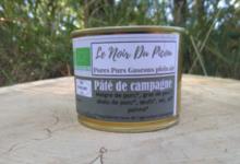 Le Noir du Picou. Pâté de Campagne de Porc Gascon Bio