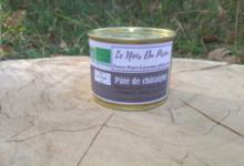 Pâté de Porc Noir Gascon Bio à la Châtaigne de nos bois
