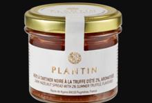 Plantin. Pâte à tartiner noire à la truffe d'été 2%, aromatisée