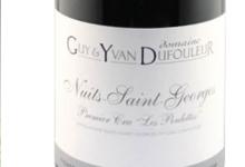 """Domaine Guy et Yvan Dufouleur. Nuits-Saint-Georges 1er Cru """"Les Poulettes"""""""