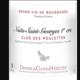 """Domaine du Clos des Poulettes. Premier cru """"Clos des Poulettes"""""""