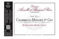 "Domaine Rion Armelle Et Bernard. Chambolle-musignu 1er cru ""Bernard Héritage"""