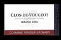 Domaine Arnoux-Lachaux. Clos-de-Vougeot