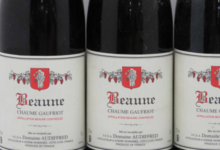 domaine Audiffred. Beaune Chaume Gaufriot