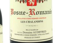 domaine Audiffred. Vosne-Romanée Les Chalandins