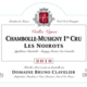 "Domaine Bruno Clavelier. Chambolle-Musigny 1er cru ""Les Noirots"""