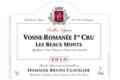 """Domaine Bruno Clavelier. Vosne-Romanée 1er cru """"Les Beaux-Monts"""""""