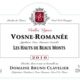 """Domaine Bruno Clavelier. Vosne-Romanée """"Les Hauts-de-Beaux-Monts"""""""
