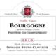"""Domaine Bruno Clavelier. Bourgogne pinot noir """"Les Champs d'Argent"""""""