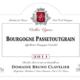 Domaine Bruno Clavelier. Bourgogne Passetoutgrain