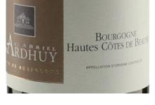 Domaine D'Ardhuy. Bourgogne Hautes Côtes de Beaune