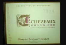 Domaine François Gerbet. Echezeaux Grand Cru
