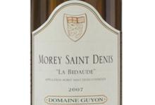 Domaine Guyon. Morey-Saint-Denis « La Bidaude »