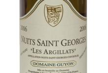 Domaine Guyon. Nuits-Saint-Georges « Les Argillats » (Pinot blanc)