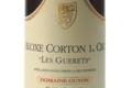 Domaine Guyon. Aloxe Corton 1er cru « Les Guérets »