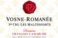 Domaine François Lamarche. Vosne-Romanée Les Malconsorts