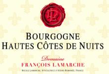 Domaine François Lamarche. Bourgogne Hautes Côtes de Nuits