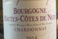Domaine Dominique Mugneret. Bourgogne Hautes-Côtes de nuits chardonnay