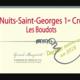 Domaine Gérard Mugneret. Nuits-Saint-Georges Les Boudots – 1er Cru