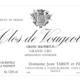 Domaine Jean Tardy & Fils. Clos de Vougeot Grand Maupertuis