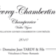"Domaine Jean Tardy & Fils. Gevrey-Chambertin ""Champerrier"" vieilles vignes"