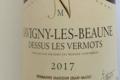 Domaine Jean-Marc Naudin. Savigny-lès-Beaune blanc, dessus les Vermots