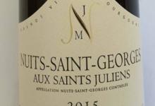"""Domaine Jean-Marc Naudin. Nuits Saint Georges """"Aux saints juliens"""""""