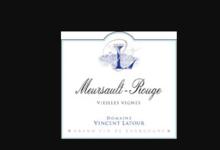 Domaine Vincent Latour. Meursault rouge