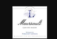 Domaine Vincent Latour. Meursault Clos des Magny