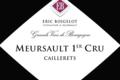 Domaine Eric Boigelot. Meursault 1er cru Caillerets