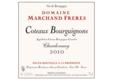 Domaine Marchand Frères. Coteaux Bourguignons blanc