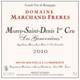 Domaine Marchand Frères. Morey-Saint-Denis 1er Cru Les Genavrières